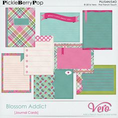 Blossom Addict [Journal Cards] By Vero