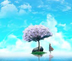 Landscape artwork by #artist Nguyễn Duy Tiến #art #freelancetalents #digitalart #freelance_talents