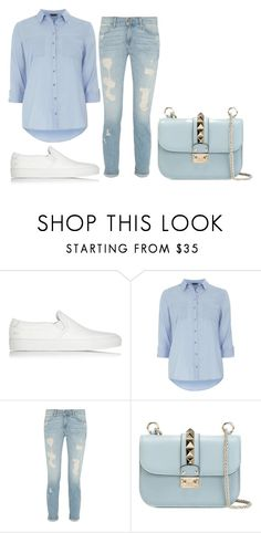 2016/212 by dimceandovski on Polyvore featuring Dorothy Perkins, Paige Denim, Common Projects and Valentino