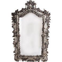 Giant silver mirror