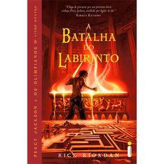 A Batalha do Labirinto - quarto livro de Percy Jackson e os Olimpianos