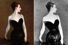 Madame X 1884 Natasha Essay The Metropolitan Museum of Art, NY Oil on canvas x cm x 43 in. Portrait Of Madame X, Ghost Images, Art Through The Ages, Simple Black Dress, John Singer Sargent, Galleries In London, High School Art, National Portrait Gallery, Sculpture