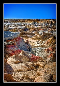 Colorado Paint Mines Calahan CO West of Colorado Springs. Just visited and it is really amazing
