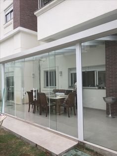 Tempered Glass Door, Doors, Outdoor Decor, Home Decor, Mulches, White People, Glass, Arquitetura, Houses