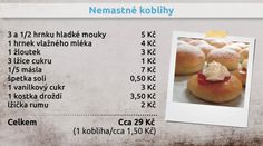 Donuts, Czech Recipes, Thing 1, Cantaloupe, Peach, Cheese, Fruit, Food, Diet