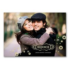 Time to Rejoice - Photo Holiday Card   |  40% OFF  |  http://mediaplus.carlsoncraft.com/Holiday/Photo-Cards/YU-YU39187FC-Time-to-Rejoice--Photo-Holiday-Card.pro