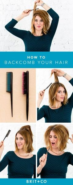 How-To-Backcomb-Your-Hair