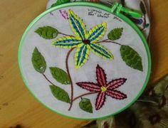 Hand Embroidery Designs # 143 - Bar blanket stitch design