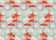 rain pattern por maja moden