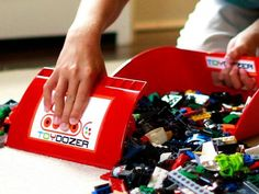 Cleaning Up Toy - The Toydozer http://www.thegrommet.com/organization-tools/toy-clean-up-tool-by-toy-dozer