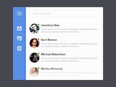 Mini Mail Application (PSD)