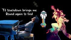 Taron Egerton - Rocket Man (Lyric Video, Rocket Man Soundtrack) Taron Egerton, Soundtrack, Singing, Lyrics, Bring It On, Concert, Videos, Youtube, Movie Posters