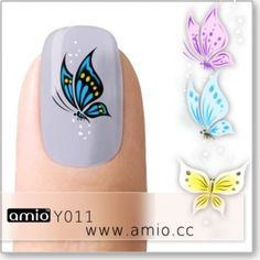 Take a look at our website and you will be able to explore wide collection of unique nail designs. Our products are environment friendly and of excellent quality. Xmas Nails, Christmas Nails, Diy Nails, Butterfly Nail Art, Flower Nail Art, Water Nails, Creative Nail Designs, Nail Art Supplies, Pretty Nail Art