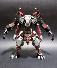 This four-armed mech is too good! - #lego #legos #creative