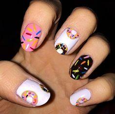 Sugar Tips // Doughnut Nail Art Ideas