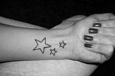 Stelle tattoo sul polso