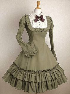 Classic Lolita Dresses, Cheap Classic Lolita Dress Online for Sale 1800s Dresses, Cute Dresses, Cute Outfits, Estilo Lolita, Lolita Cosplay, Tea Length Dresses, Steampunk Clothing, Lolita Dress, Asian Fashion