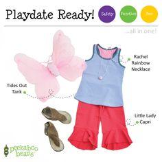 Fantasy Bean!   Peekaboo Beans - playwear for kids on the grow!   Contact your local Play Stylist or shop On-Vine at www.peekaboobeans.com   #PBPlayfulPairings