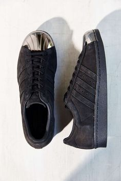 adidas Blue Superstar 80s Metal-Toe Sneaker