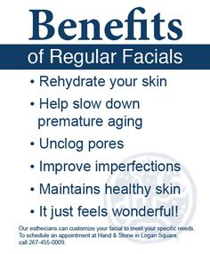Benefits of Facials. Herbal Touch Skin Care in Carson, CA