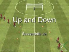 Improve Your Soccer Game With These Helpful Tips! As popular as the sport is, it's not surprising that so many people want to know more about the game of soccer. Soccer Passing Drills, Football Coaching Drills, Soccer Training Drills, Soccer Trainer, Soccer Gifs, Good Soccer Players, Youth Soccer, Improve Yourself, Youtube