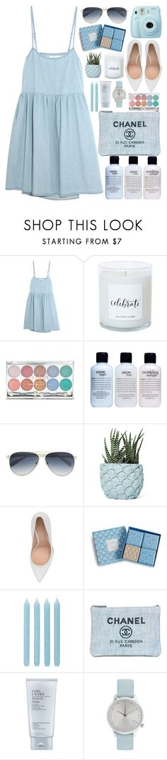 """Pineapple Planter // itsybitsy62"" by itsybitsy62 ❤ liked on Polyvore featuring The Great, Fuji, philosophy, Calvin Klein, Chen Chen & Kai Williams, Gianvito Rossi, Vera Bradley, Pier 1 Imports, Chanel and Estée Lauder"