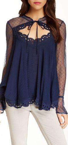 black magic blouse