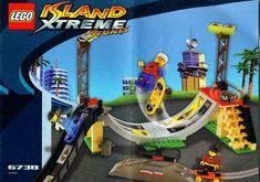 Lego Instructions: Island Xtreme Stunts - Skateboard Challenge [Lego 6738]
