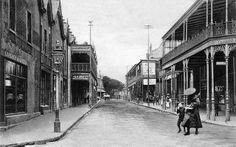 Lower Main Road, Observatory - c1905 Cities In Africa, Most Beautiful Cities, Places Of Interest, Back In Time, Old Photos, Vintage Photos, Historical Pictures, Cape Town, South Africa