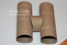 how to make binoculars out of toilet paper rolls - Google Search
