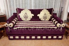 royal purple and gold .....star of morocco