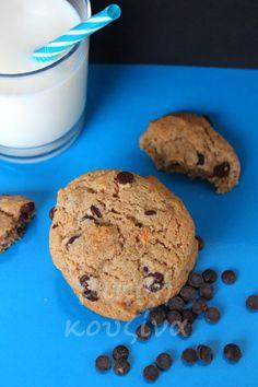 Μαλακά μπισκότα με ζέα και σοκολάτα-μικρή κουζίνα Muffin, Vegan, Breakfast, Healthy, Food, Morning Coffee, Essen, Muffins, Meals