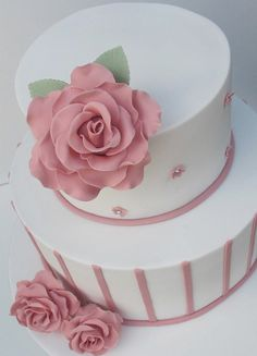 60th Birthday Cake by Baking Addict, via Flickr