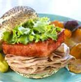 Roasted Pork Loin and Watermelon Sandwich with Honey Mustard - 12-28-2014