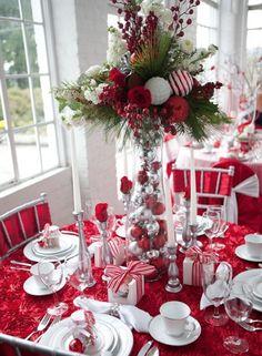Ideas para decorar la mesa esta navidad!!