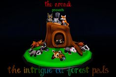 11242013-The-Arcade-December-Intrigue-Co-Plushie-Pals-Forest | Flickr - Photo Sharing!