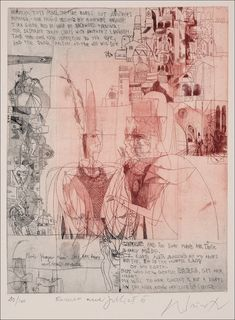 Adam Wurtz, Romeo and Juliet William Shakespeare, Romeo Y Julieta, Collages, Red Curtains, Romeo And Juliet, View Image, Concept Art, Vintage World Maps, Literature