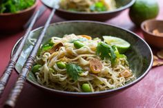 Spicy Pan-Fried Noodles by Melissa Clark