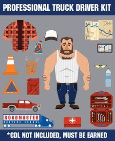 43 ideas for truck driver humor trains Pink Truck, Black Truck, Semi Trucks, Old Trucks, Monster Truck Drawing, Truck Nursery, Truck Living, Trucker Quotes, Truck Bed Storage