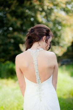 #trouwjurk #bruidsjurk #bruidsjapon #rug #jurk #bruiloft #trouwen #trouwdag #huwelijk #inspiratie #wedding #dress #gown #back #inspiration | Photography: Peter van der Lingen | ThePerfectWedding.nl