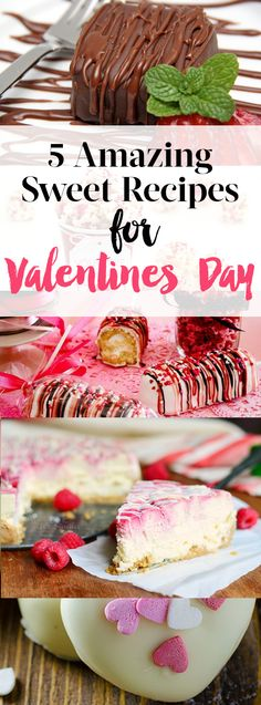 Valentines Day Recipes 5 Amazing Recipes for Valentines Day! Sweet Recipes, Snack Recipes, Dessert Recipes, Vegetarian Recipes, Valentine Desserts, Valentines Food, Dessert Table, Chef's Table, February Days
