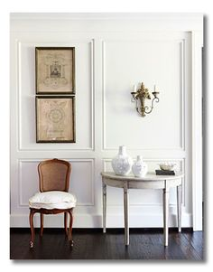 Designer Recommended Whites- So glad I found this!!!  This post collected many designers sharing their favorite whites both for trim and walls with pictures included!  What a help.
