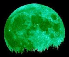 Green moon only happens every 420 years
