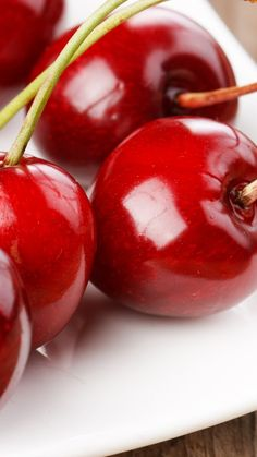 Cherry Pictures iPhone 6 Plus Wallpaper 20688 - Food and Drink iPhone 6 Plus Wallpapers  #iPhone #6 #Plus #Wallpapers #Cherry