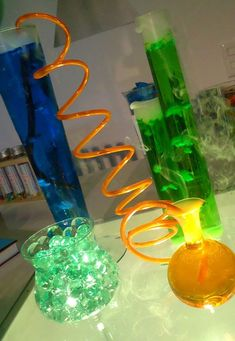 Science Lab Decor from Cokesbury VBS.