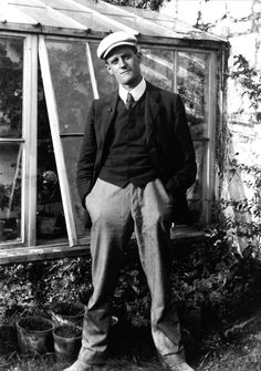 James Joyce--will always be my favorite photo of him.