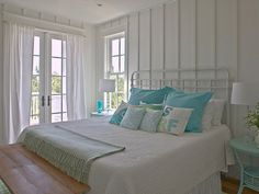Coastal Bedroom Interiors