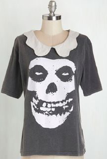 I love this tee!!  I bet Wednesday Addams loved the Misfits.