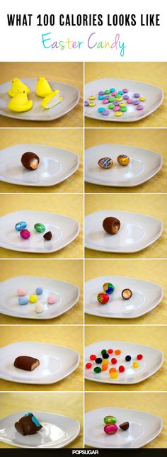 Wait Before You Pop Another Peep! What 100 Calories of Easter Candy Looks Like