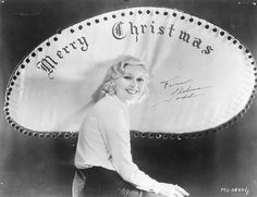 Thelma Todd celebrates Christmas, 1920s. #vintage #actresses #Christmas